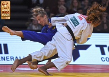 Clarisse Agbegnenou (FRA) - Grand Slam Paris (2018, FRA) - © IJF Media Team, International Judo Federation