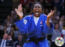 Madeleine Malonga (FRA) - Grand Slam Paris (2018, FRA) - © IJF Media Team, International Judo Federation