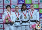 Sally Conway (GBR), Chizuru Arai (JPN), Kim Polling (NED), Marie Eve Gahié (FRA) - Grand Slam Paris (2018, FRA) - © IJF Media Team, IJF