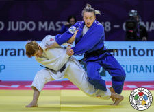 Evelyne Tschopp (SUI), Charline Van Snick (BEL) - IJF World Masters Guangzhou (2018, CHN) - © IJF Media Team, International Judo Federation