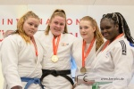 Marit Kamps (NED), Lea Stein (GER), Carmen Dijkstra (NED), Ashley Tokomboh (FRA) - Thuringia Cup U18 Bad Blankenburg (2018, GER) - © Klaus Müller, Watch: https://km-pics.de/
