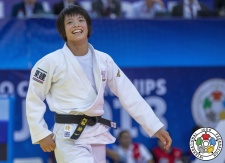 Uta Abe (JPN) - World Championships Baku (2018, AZE) - © IJF Media Team, International Judo Federation