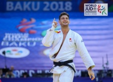 Nikoloz Sherazadishvili (ESP) - World Championships Baku (2018, AZE) - © IJF Media Team, International Judo Federation