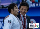 Naohisa Takato (JPN), Kazuhiko Tokuno (JPN) - World Championships Baku (2018, AZE) - © IJF Media Team, International Judo Federation