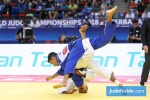Tal Flicker (ISR), Georgii Zantaraia (UKR) - World Championships Baku (2018, AZE) - © JudoInside.com, judo news, results and photos