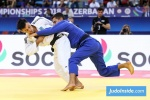 Georgii Zantaraia (UKR), Tal Flicker (ISR) - World Championships Baku (2018, AZE) - © JudoInside.com, judo news, results and photos
