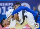 Tal Flicker (ISR), Georgii Zantaraia (UKR) - World Championships Baku (2018, AZE) - © IJF Media Team, International Judo Federation