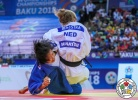 Margriet Bergstra (NED), Wen Zhang (CHN) - World Championships Baku (2018, AZE) - © IJF Media Team, International Judo Federation