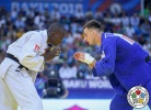 Emmanuel Nartey (GHA), Artem Khomula (UKR) - World Championships Baku (2018, AZE) - © IJF Media Team, International Judo Federation