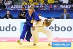 Juul Franssen (NED), Martyna Trajdos (GER) - World Championships Baku (2018, AZE) - © JudoInside.com, judo news, results and photos