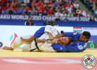 Attila Ungvari (HUN), Sagi Muki (ISR) - World Championships Baku (2018, AZE) - © IJF Media Team, International Judo Federation
