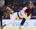 Clarisse Agbegnenou (FRA), Martyna Trajdos (GER) - World Championships Baku (2018, AZE) - © IJF Media Team, International Judo Federation