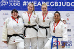 Emily Ritchie (GBR), Kate Saunders (GBR), Sarah Hawkes (IRL), Danielle Mitchell (GBR) - British Championships Sheffield (2019, GBR) - © British Judo Association