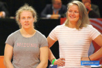 Sanne Vermeer (NED), Sanne Van Dijke (NED) - Dutch Championships Almere (2019, NED) - © JudoInside.com, judo news, results and photos