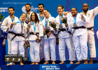 Joana Ramos (POR), Barbara Timo (POR) - European Games Minsk mixed teams (2019, BLR) - © David Finch, Judophotos.com