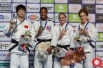 Maylin Del Toro Carvajal (CUB), Jing Tang (CHN), Alice Schlesinger (GBR), Amy Livesey (GBR) - Grand Prix Antalya (2019, TUR) - © Turkish Judo Federation