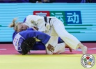Jessica Klimkait (CAN), Sarah Leonie Cysique (FRA) - Grand Prix Hohhot (2019, CHN) - © IJF Gabriela Sabau, International Judo Federation