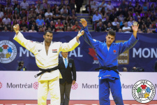 Ramadan Darwish (EGY), Shady El Nahas (CAN) - Grand Prix Montreal (2019, CAN) - © IJF Emanuele Di Feliciantonio, International Judo Federation