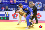 Aslan Lappinagov (RUS), Antoine Valois-Fortier (CAN) - Grand Prix Montreal (2019, CAN) - © Rafal Burza - Judo Canada