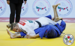 Daria Bilodid (UKR) - Grand Slam Abu Dhabi (2019, UAE) - © IJF Gabriela Sabau, International Judo Federation