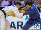 Luka Maisuradze (GEO), Moon-Jin Lee (KOR) - Grand Slam Abu Dhabi (2019, UAE) - © IJF Gabriela Sabau, International Judo Federation