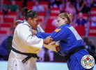 Maria Suelen Altheman (BRA), Larisa Ceric (BIH) - Grand Slam Abu Dhabi (2019, UAE) - © IJF Marina Mayorova, International Judo Federation