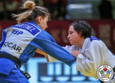 Laura Martinez Abelenda (ESP), Julia Figueroa (ESP) - Grand Slam Baku (2019, AZE) - © IJF Gabriela Sabau, International Judo Federation