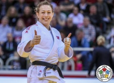 Sally Conway (GBR) - Grand Slam Düsseldorf (2019, GER) - © IJF Gabriela Sabau, International Judo Federation