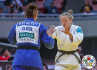 Sanne Van Dijke (NED), Miriam Butkereit (GER) - Grand Slam Osaka (2019, JPN) - © IJF Marina Mayorova, International Judo Federation
