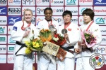 Madeleine Malonga (FRA), Luise Malzahn (GER), Fei Chen (CHN), Mami Umeki (JPN) - Grand Slam Paris (2019, FRA) - © IJF Media Team, International Judo Federation