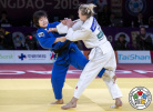 Jessica Klimkait (CAN) - IJF World Masters Qingdao (2019, CHN) - © IJF Gabriela Sabau, International Judo Federation
