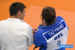Robert Krawczyk (POL), Roxane Taeymans (BEL) - Training Centre Papendal (2019, NED) - © JudoInside.com, judo news, results and photos