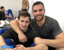 Aleksandar Kukolj (SRB), Peter Paltchik (ISR) - Training Centre Papendal (2019, NED) - © JudoInside.com, judo news, results and photos