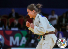 Szofi Ozbas (HUN) - World Championships Juniors Marrakech (2019, MAR) - © IJF Gabriela Sabau, International Judo Federation