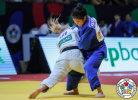 Andrea Stojadinov (SRB), Oidovchimed Baasansuren (MGL) - World Championships Juniors Marrakech (2019, MAR) - © IJF Gabriela Sabau, International Judo Federation
