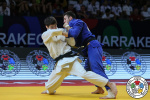 Somon Makhmadbekov (TJK), Georgii Elbakiev (RUS) - World Championships juniors Marrakech (2019, MAR) - © IJF Emanuele Di Feliciantonio, International Judo Federation