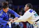 Morgane Fereol (FRA), Mariam Tchanturia (GEO) - World Championships Juniors Marrakech (2019, MAR) - © IJF Gabriela Sabau, International Judo Federation