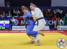 Petrunjela Pavic (CRO), Patricia Sampaio (POR) - World Championships Juniors Marrakech (2019, MAR) - © IJF Gabriela Sabau, International Judo Federation