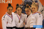 Elin Henninger (NED), Isabel Wiebers (NED), Emma Nalbat (NED), Paulien Snijder (NED) - Dutch Championships U21 Almere (2020, NED) - © JudoInside.com, judo news, results and photos
