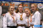 Lieke Derks (NED), Esmee Kroon (NED), Annick Baas (NED), Anna Sonnenberg (GER) - Dutch Open Espoir U18 Eindhoven (2020, NED) - © JudoInside.com, judo news, results and photos