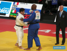 Kokoro Kageura (JPN), Teddy Riner (FRA) - Grand Slam Paris (2020, FRA) - © JudoInside.com, judo news, results and photos