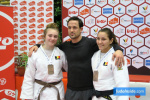 Helena Didden (BEL), Damien Bomboir (BEL), Leyla Kluckers (BEL) - International Open Herstal Juniors (2020, BEL) - © JudoInside.com, judo news, results and photos