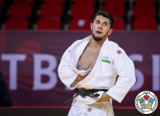 Davlat Bobonov (UZB) - Grand Slam Tbilisi (2021, GEO) - © IJF Marina Mayorova, International Judo Federation