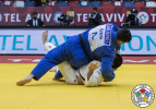Gela Zaalishvili (GEO) - Grand Slam Tel Aviv (2021, ISR) - © IJF Gabriela Sabau, International Judo Federation
