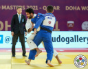 Sagi Muki (ISR), Aslan Lappinagov (RUS) - IJF World Masters Doha (2021, QAT) - © IJF Marina Mayorova, International Judo Federation