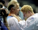 Claudia Zwiers (NED), Cor van der Geest (NED) - Olympic Games Atlanta (1996, USA) - © David Finch, Judophotos.com