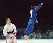 Ryoko Tani (JPN) - Olympic Games Sydney (2000, AUS) - © David Finch, Judophotos.com