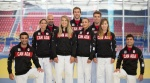 Sergio Pessoa (CAN), Antoine Bouchard (CAN), Arthur Margelidon (CAN), Antoine Valois-Fortier (CAN), Ecaterina Guica (CAN), Catherine Beauchemin-Pinard (CAN), Kelita Zupancic (CAN) - © Canada Olympic Committee